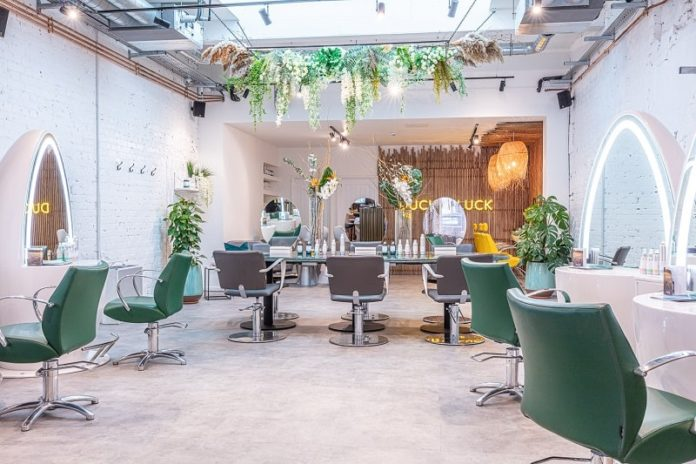 duck and dry mayfair blowdry bar london
