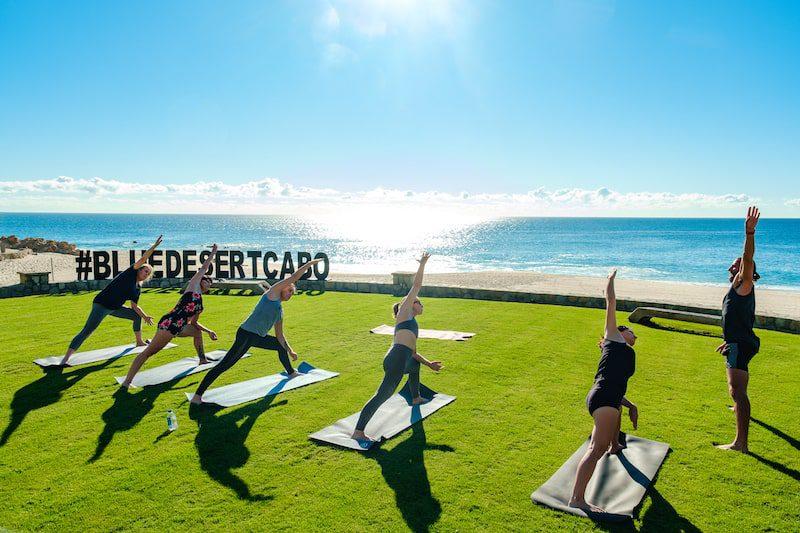 blue desert cabo casa edwards yoga class
