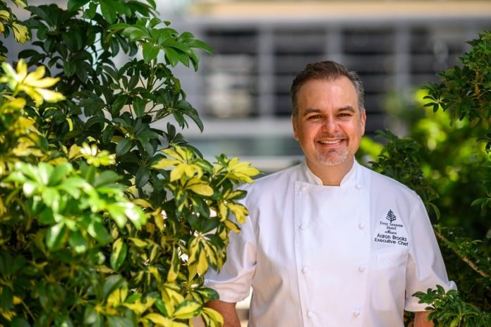 chef aaron brooks four seasons miami