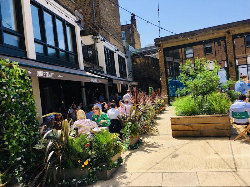 JFk terrace at eccleston yards london