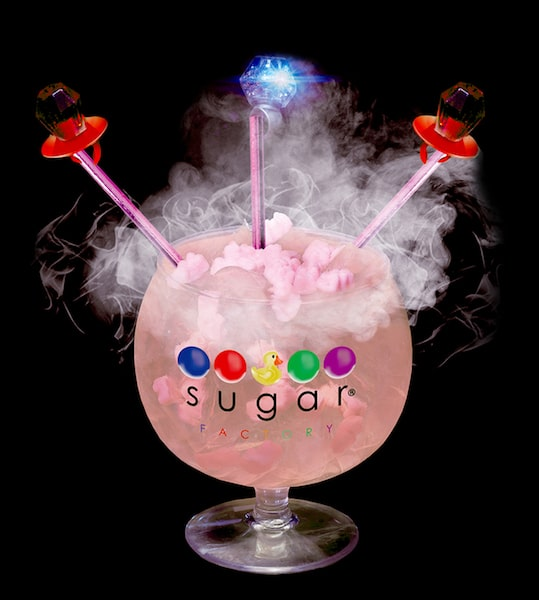 sugar factory goblet diamond rose - EET Magazine