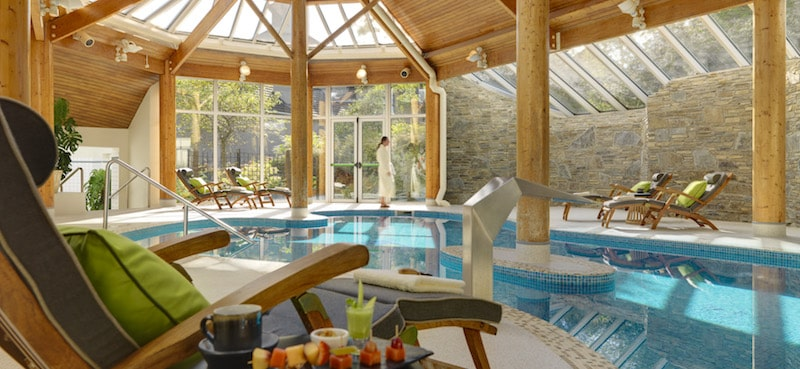 sheen falls lodge spa pool ireland
