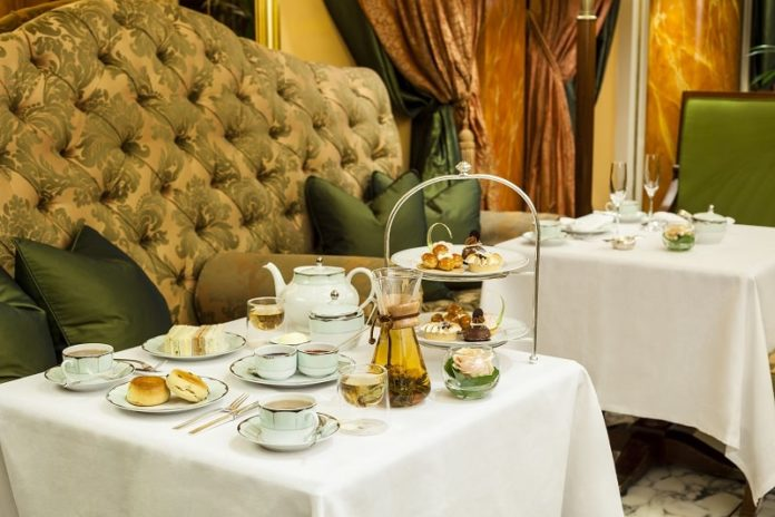 the dorchester afternoon tea promenade london luxury dining
