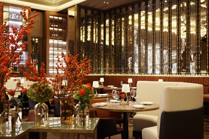 the grill at the dorchester london interior dining
