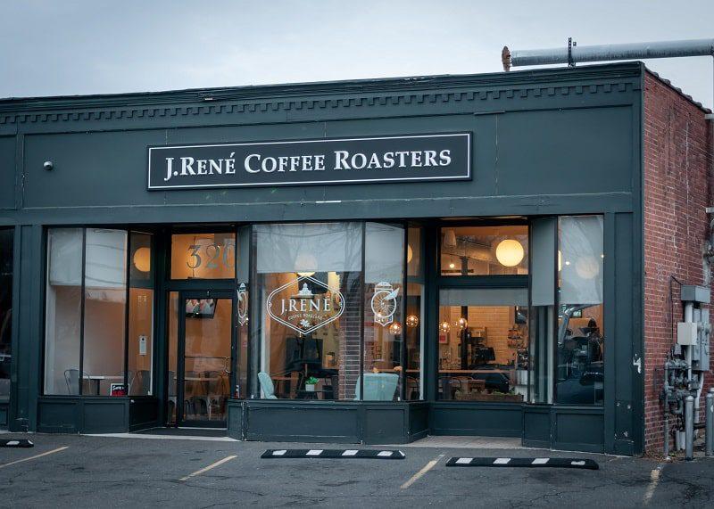 J.René Coffee Roasters west hartford ct exterior building
