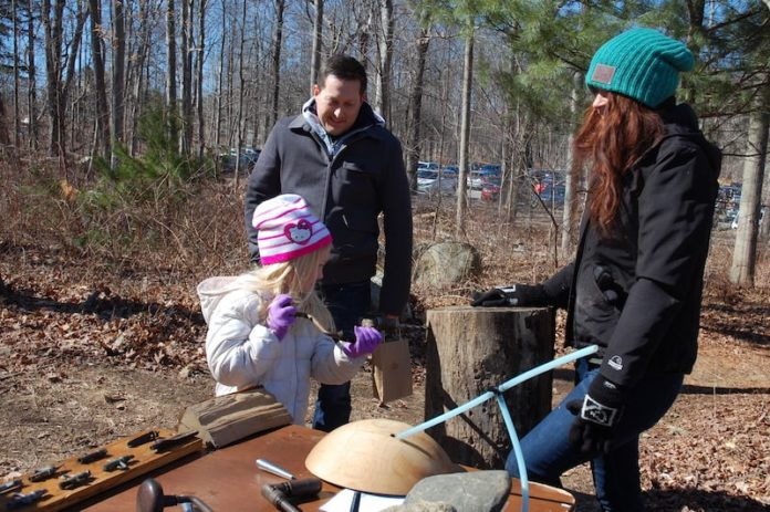 maple sugar trees festival connecticut stamford parents with child