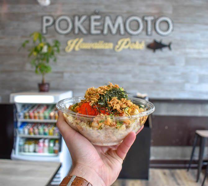 pokemoto connecticut poke bowl delivery takeout