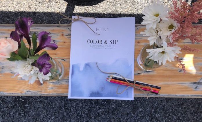 rgny riverhead takeout color and sip kit