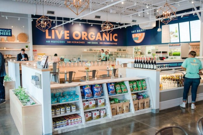 organic krush long island interior