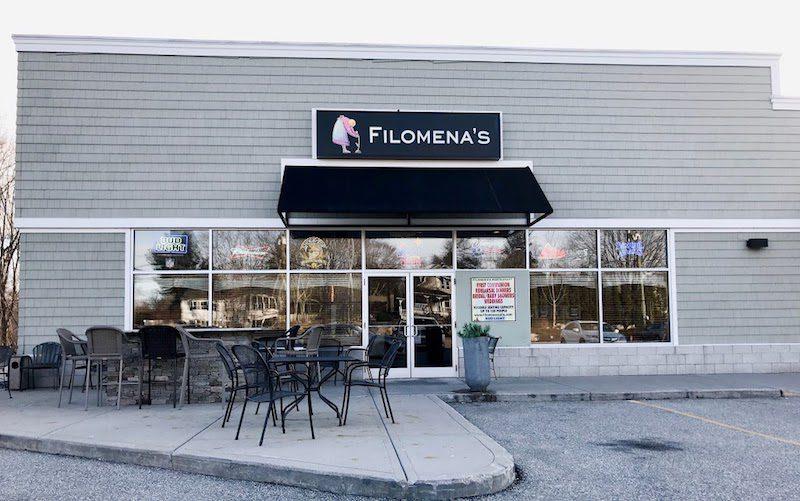 Filomena's italian restaurant connecticut front