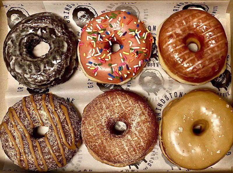 grindstone coffee and donuts sag harbor half dozen