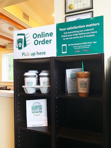 Hampton coffee company hamptons online order