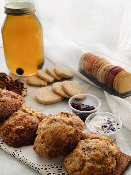 specialtea house tea honey and scones greenport