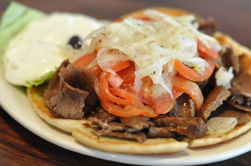 open face gyro hellenic snack bar restaurant east marion north fork restaurant