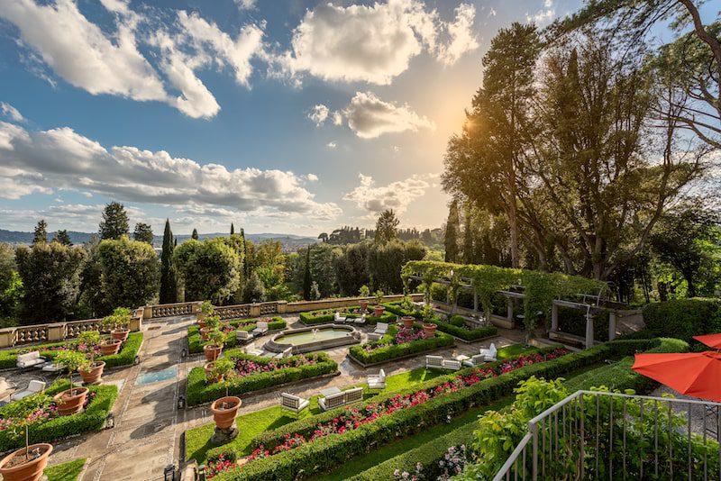 il salviatino gardens sunshine italy luxury