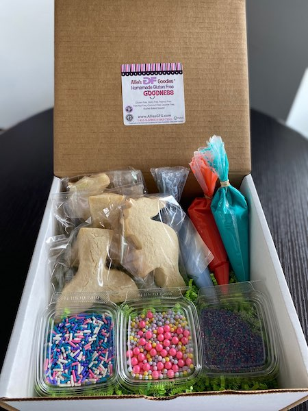 allie's gf goodies bakery cookie making kit gluten free