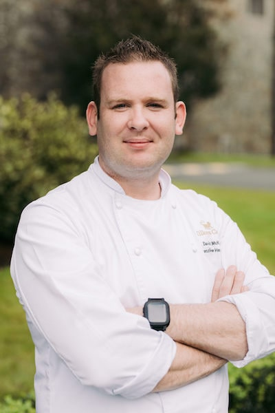 chef david kckane kilkea castle ireland