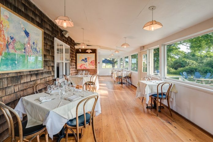 old stove pub sagaponack the hamptons indoor dining room