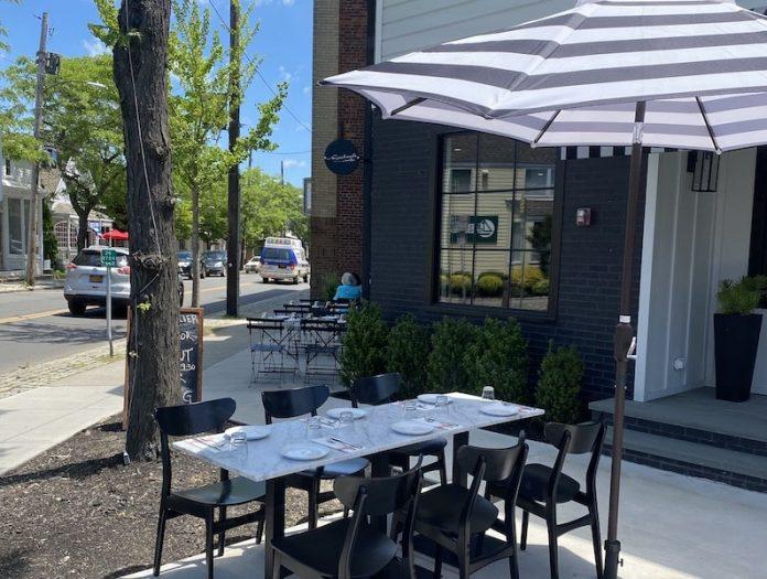 demarchelier menhaden hotel greenport exterior outdoor seating