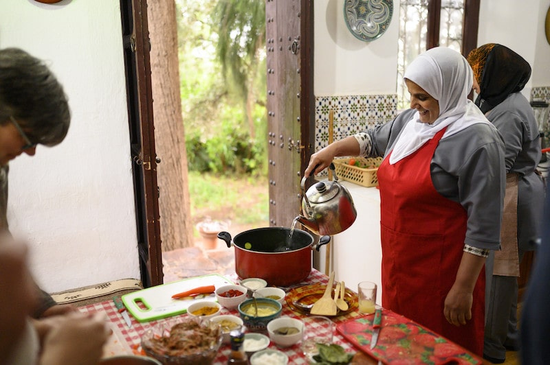 moroccan family cooking indoors airbnb virtual online experiences