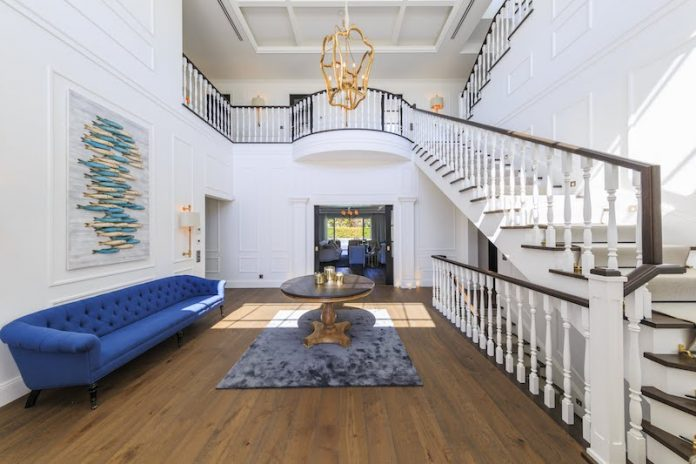 Quinta Do Lago rental property portugal luxury real estate foyer