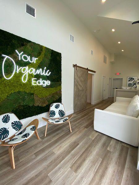 organic edge lobby water mill ny