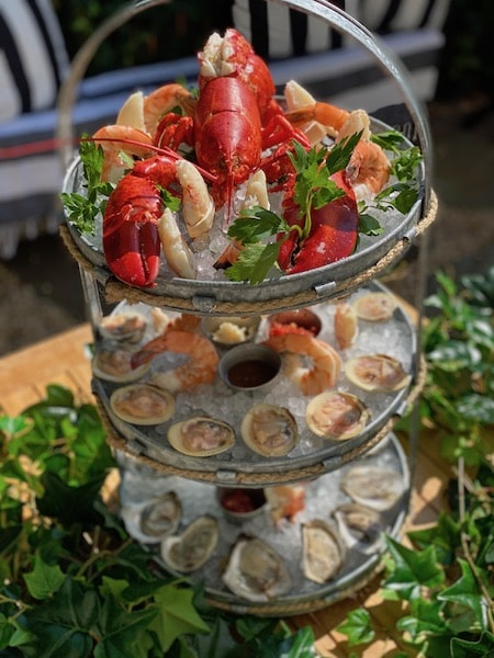 seafood tower ed's lobster bar