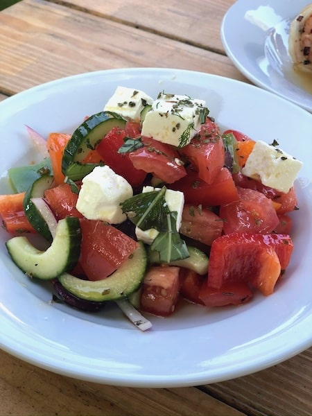 classic greek salad old stove pub sagaponack now open