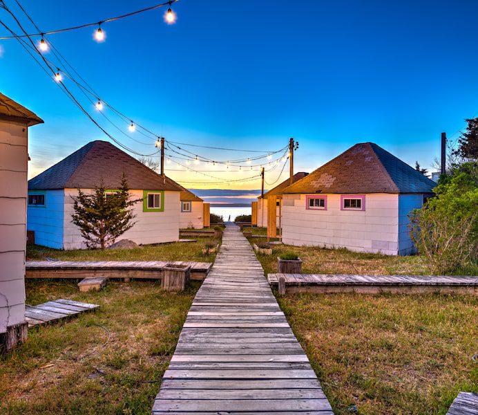 beach and bay bungalows westhampton beach long island sunset