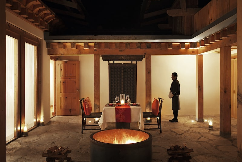 como villa private dining