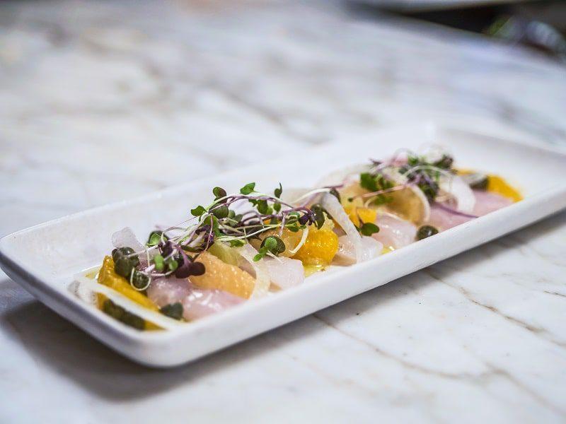 calissa hamptons appetizer on a plate