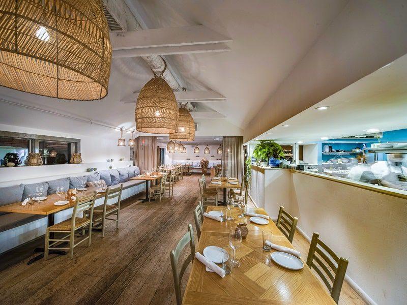 calissa hamptons interior dining water mill - East End Taste Magazine
