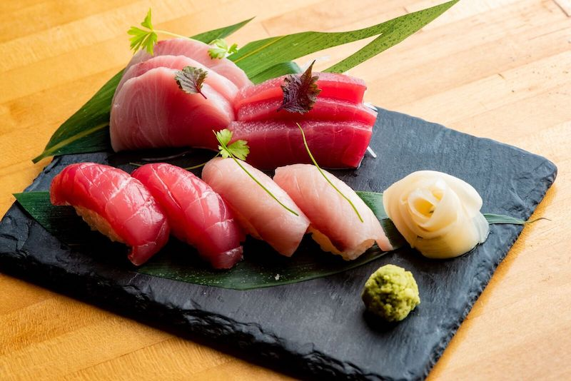 sen sushi plate sag harbor restaurant
