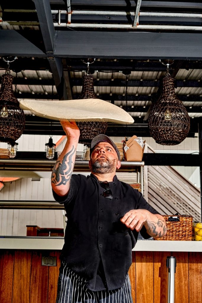 chef salvatore olivella naples italy montauk beach house