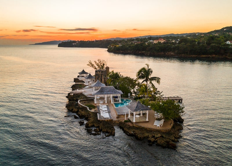 couples tower isle private island jamaica caribbean