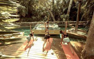 w punta demita yoga relaxation deck