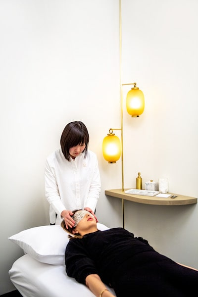 ora in noho nyc wellness center acupuncture cupping service head massage