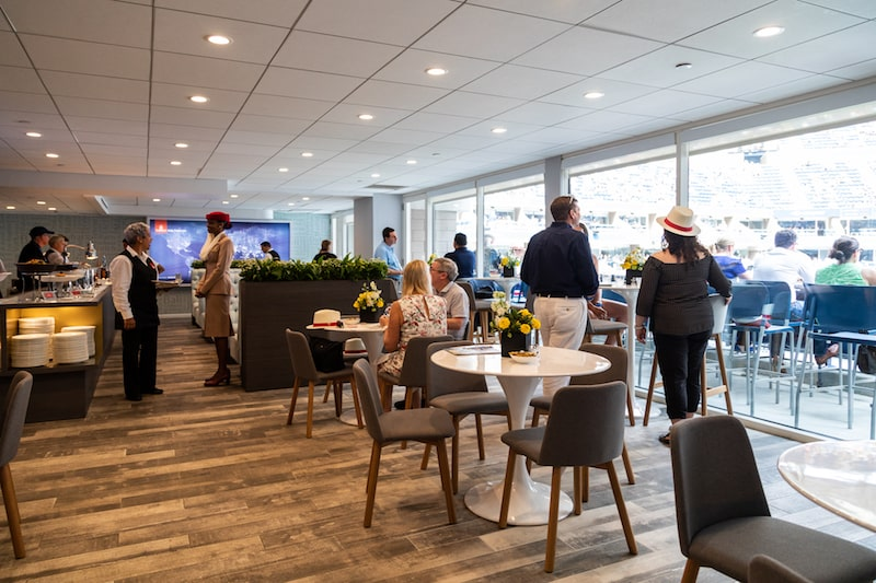 Emirates Suite at Arthur Ashe Stadium