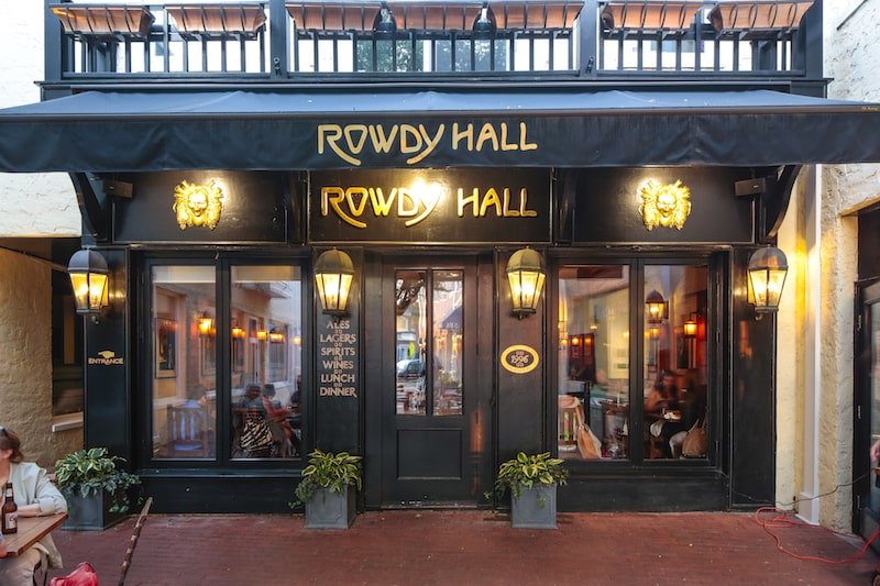 rowdy hall east hampton exterior