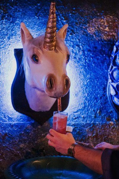 the cauldron cocktail bar unicorn unlimited