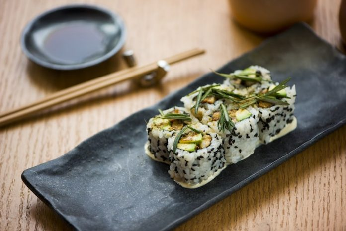 unagi white pepper rosemary aioli sushi garage miami
