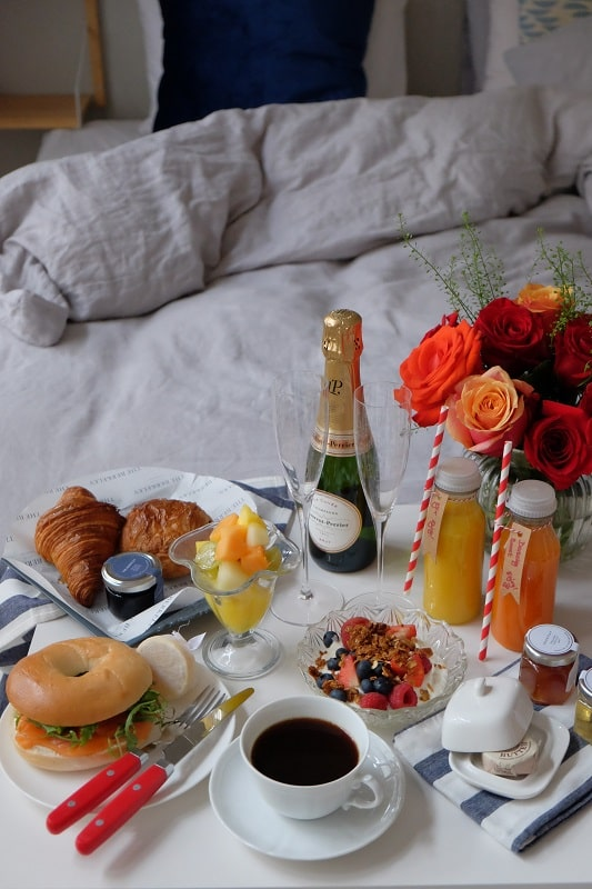 the berkeley london breakfast in bed delivery service