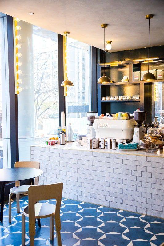 the tillary hotel cafe brooklyn chic breakfast room
