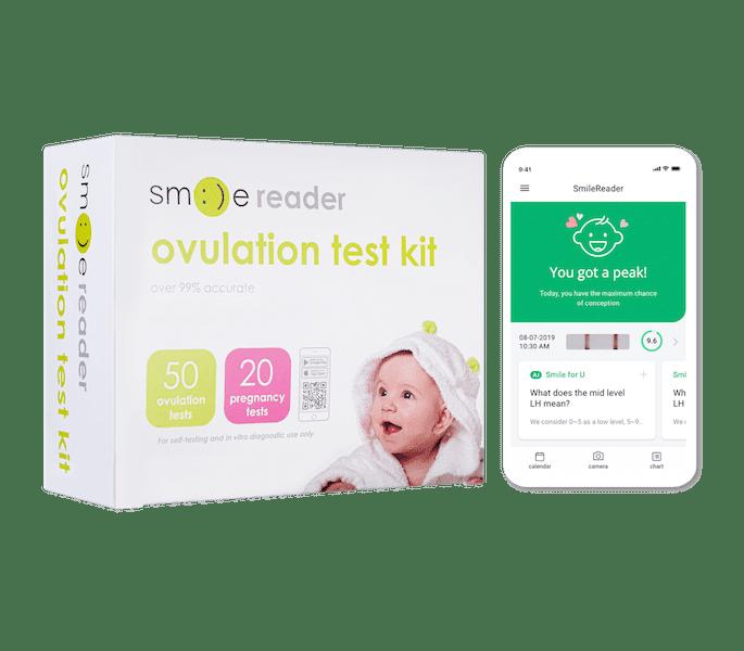 smile reader ovulation test