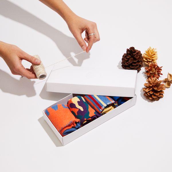 Able made socks gift box