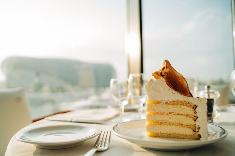 Cipriani Vanilla Meringue Cake - East End Taste Magazine