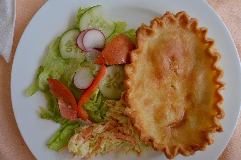 Chicken and Mushroom Pie. Images by Vanessa Gordon - East End Taste Magazine