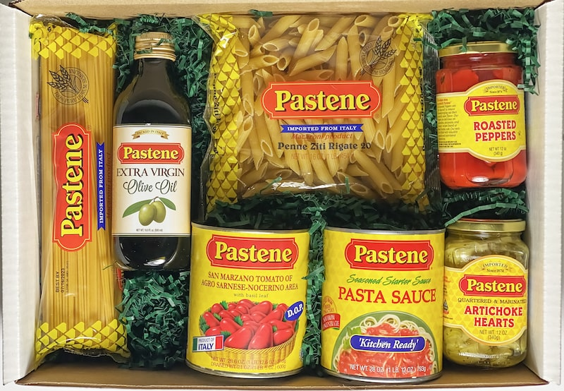 pastene favorites specialty food box - East End Taste Magazine