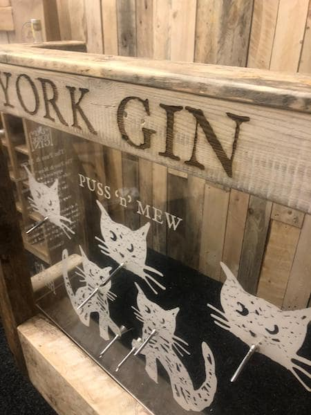 York Gin Puss and Mew tradition history