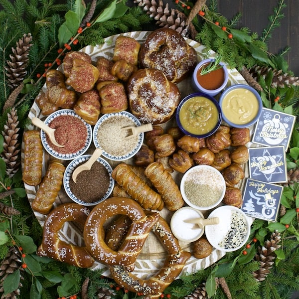 eastern standard provisions gourmet pretzels holiday platter